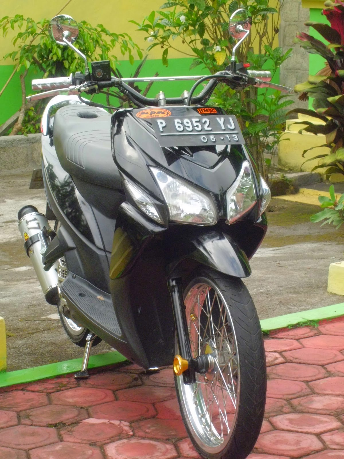 98 Modifikasi Motor Vario 125 Velg Lebar Terbaru Oneng Motomania