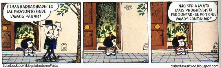 Clube da Mafalda: Tirinha 569