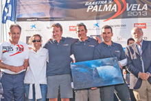 J/80 PalmaVela winning team- ProSailing