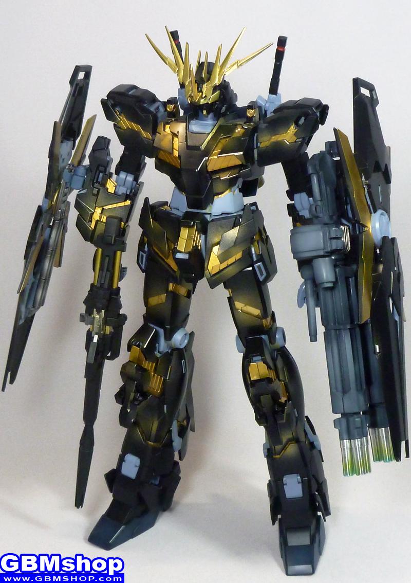resin 1/100 RX-0 Unicorn Gundam 02 Banshee