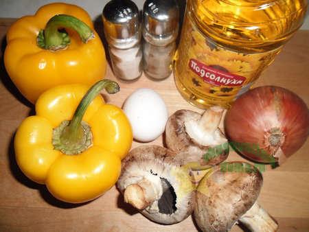 Суфле из болгарского перца
