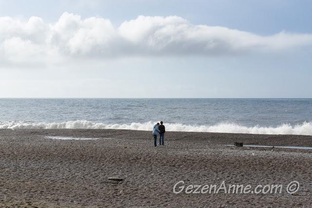 Positano plajı