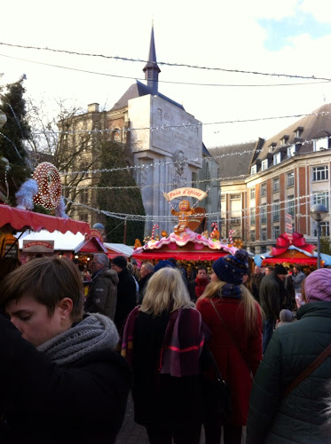 Marché noel lille 2014
