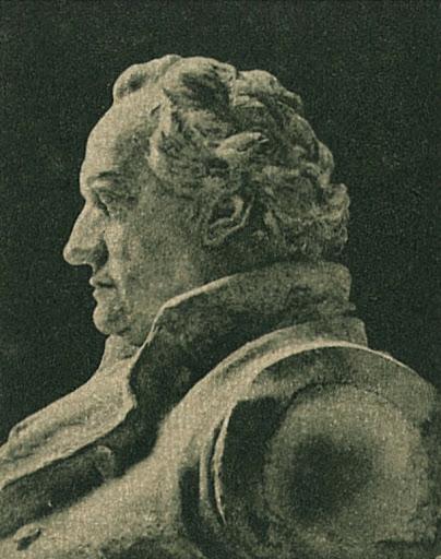 Edmond Helmer Goethe-szobra