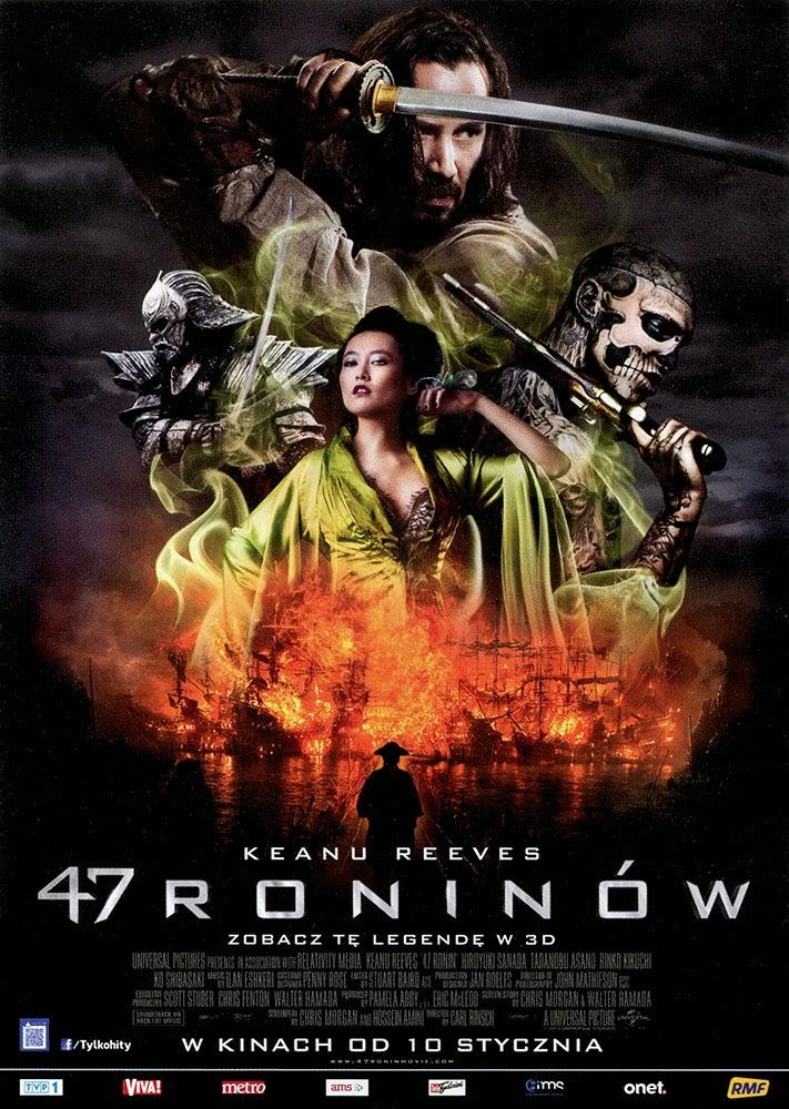 Ulotka filmu '47 Roninów (przód)'