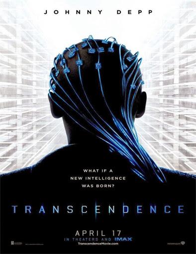 Poster de Transcendence (Transcendencia: Identidad Virtual)