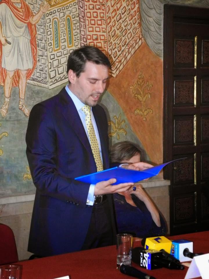 FOTO Principele Nicolae în vizită la Constanța, 21 mai 2014