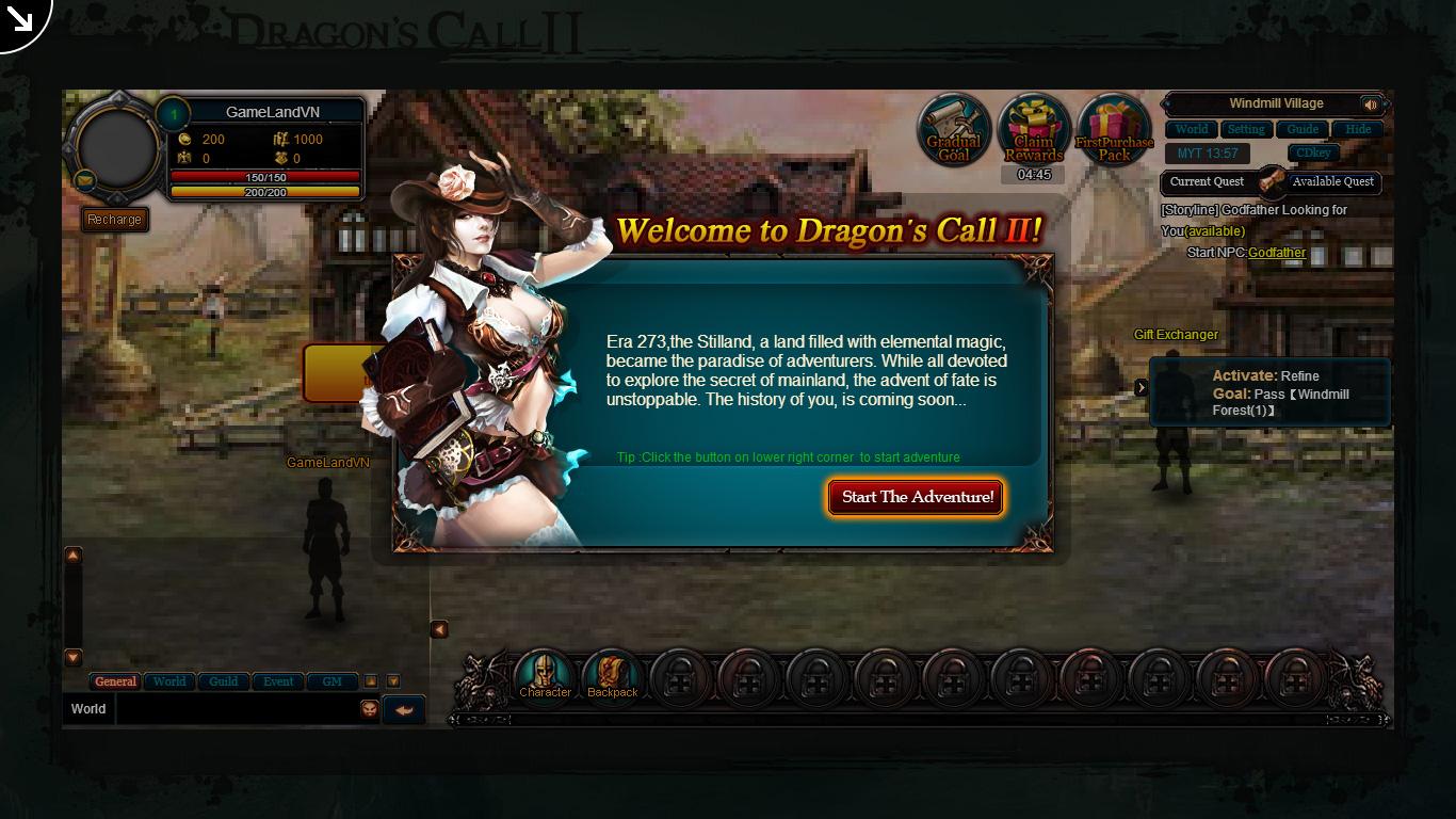 Một số hình ảnh về webgame Dragon's Call 2 - Ảnh 2
