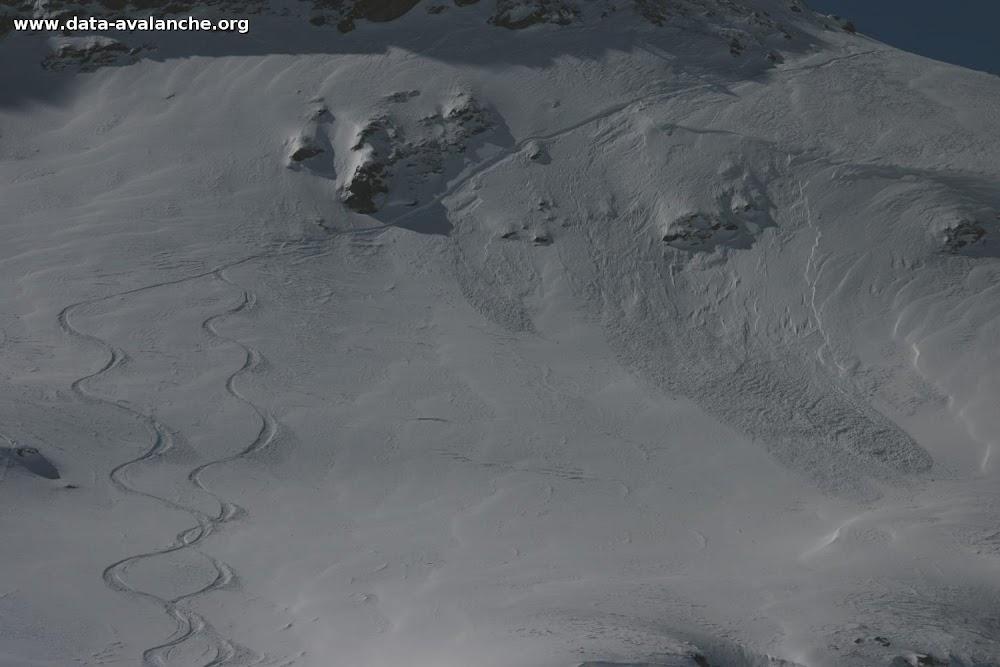 Avalanche Haute Maurienne, secteur Pointe d'Andagne, Secteur du CATEX - Photo 1