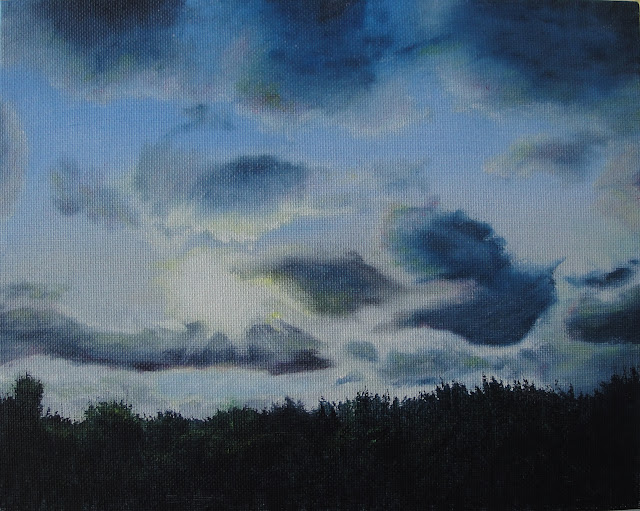 Twilight Sky 1 - Original Painting