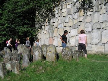 Kazimierz - Pomnik z macew