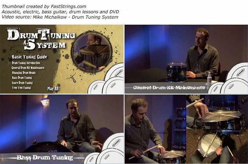 Mike Michalkow - Drum Tuning System