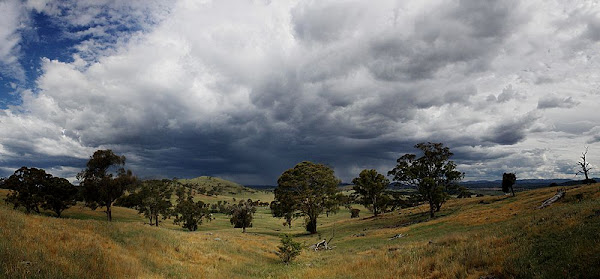 storm over canberra
