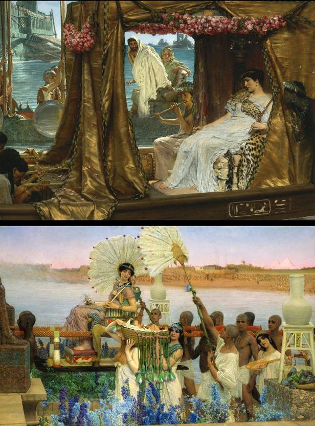 Algargos, Arte e Historia: ALMA TADEMA. HISTORIA DE DOS CUADROS: EL ...