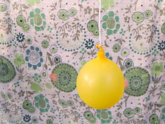 Prepare o balão