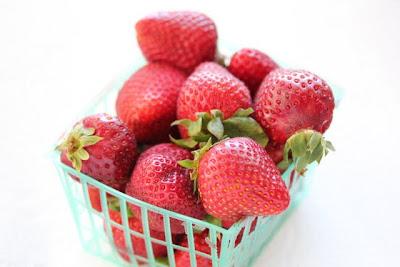 photo of fresh whole strawberries