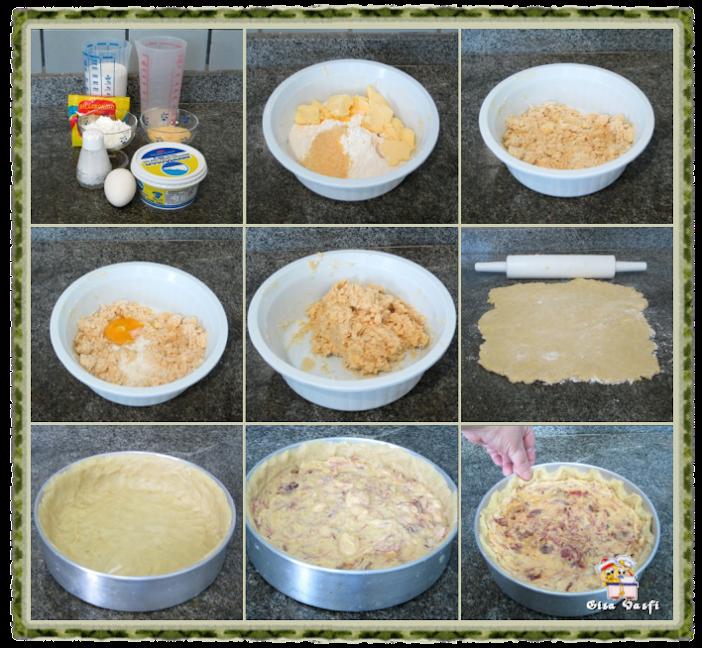 Torta de carne seca com mandioquinha 3