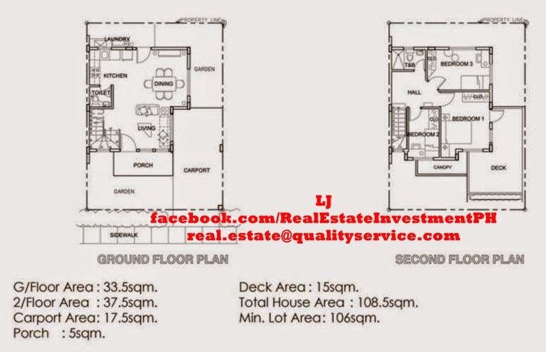 Aurea 2-Storey Floor Plan