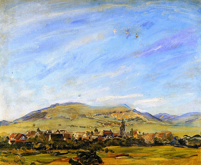 Max Slevogt - View from Godramstein toward Frankweiler
