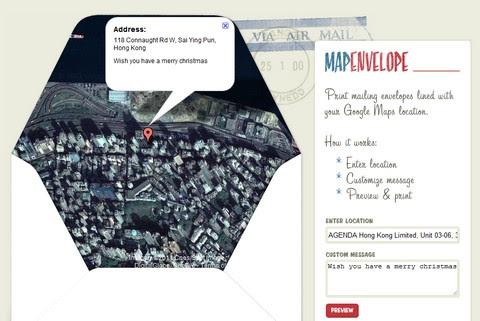 Map Envelop
