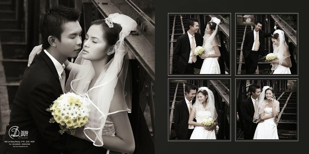 Phong cách cổ điển cũng là 1 điểm nhấn trong album hình cưới quận 2