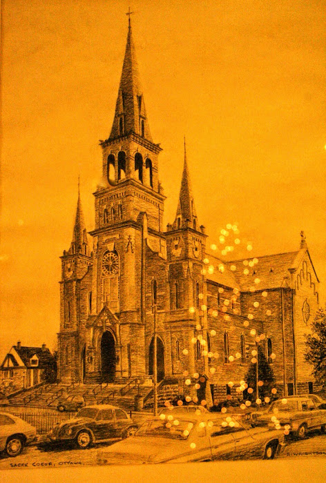 l'église du Sacré Coeur -- Photo -- Denyse Mageau