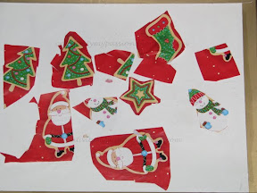 Make a Collage from Gift wrap