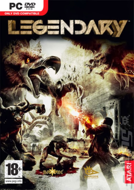Cover Of Legendary (2008) Full Latest Version PC Game Free Download Resumable Links at Alldownloads4u.Com
