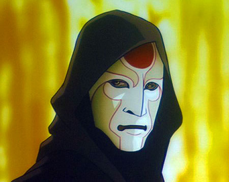 The Legend of Korra Papercraft Amon Mask