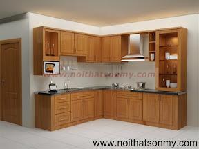 Tủ bếp gỗ 03