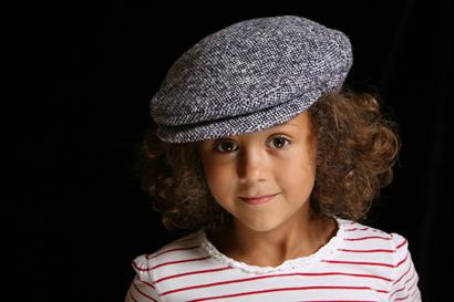 Die kecke Kappe – auch schon für die junge Generation.