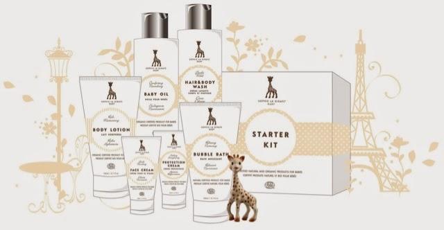 Sophie La Girafe Cosmetics Skincare Range