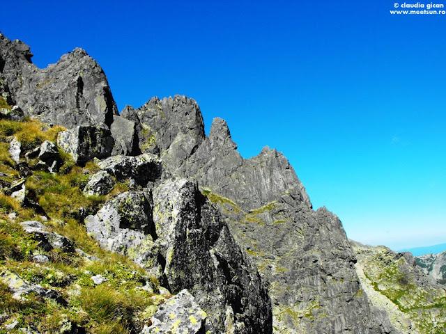 creste si trasee de alpinism in Retezat