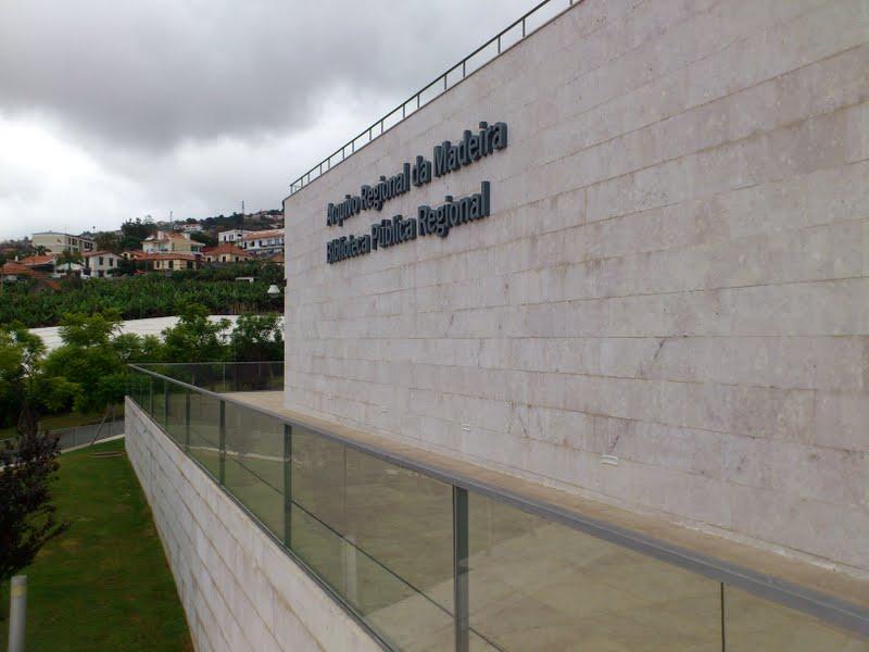Arquivo Regional da Madeira and Biblioteca Pública