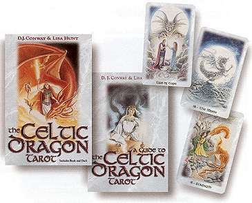 Occult Celtic Dragon Tarot Card Deck Image