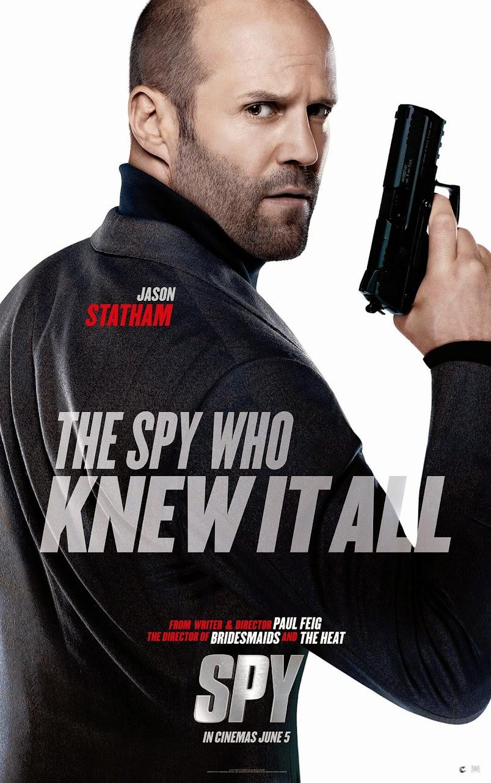 Spy Jason Statham Poster