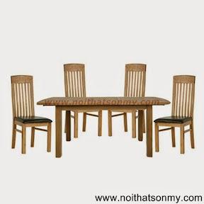 Bộ bàn ăn gỗ 11