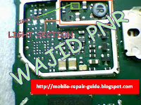 nokia 1202-1661 back light problems