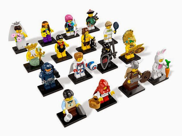8831 レゴ ミニフィギュア シリーズ7