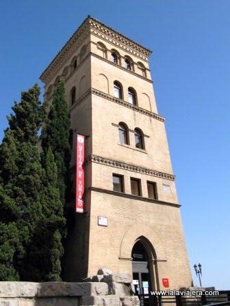 Torreón de la Zuda, oficina de turismo de Zaragoza