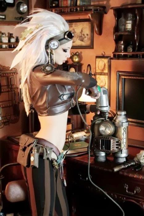 Sexy Steampunk Girl 15