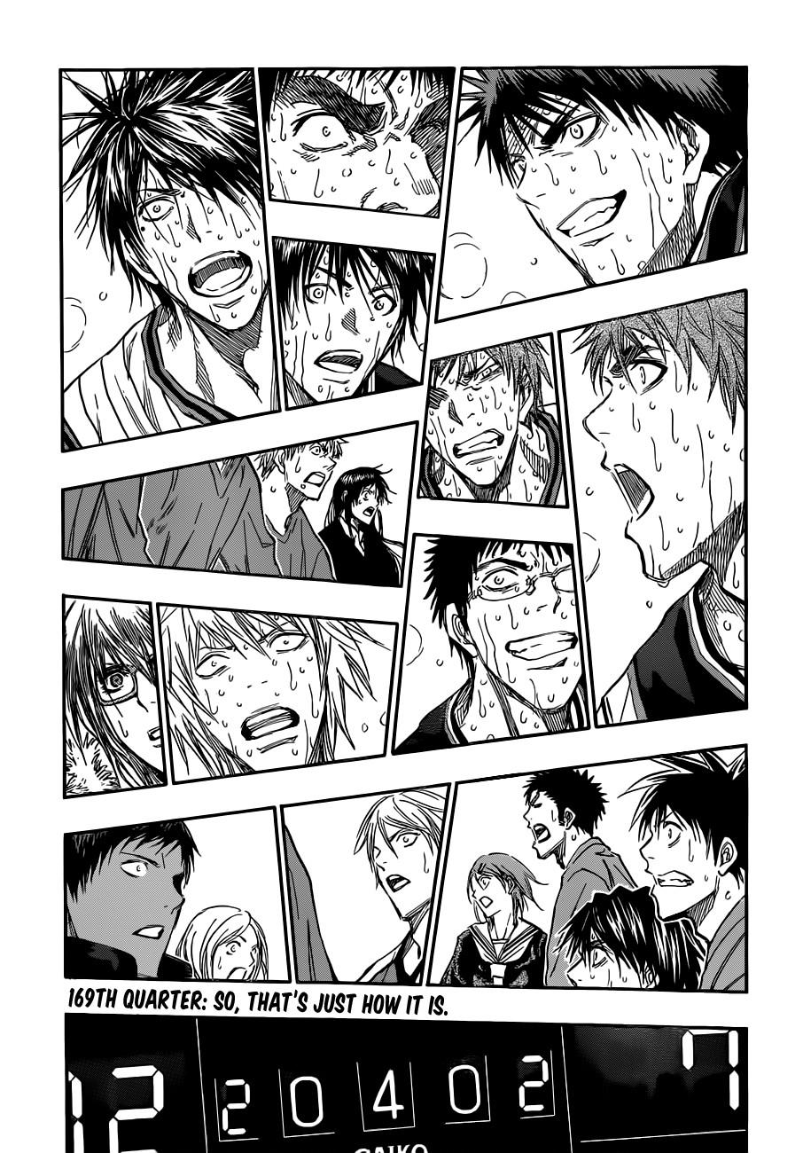 Kuroko no Basket Manga Chapter 169 - Image 03
