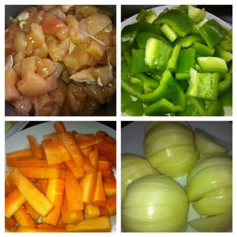 molho do Frango Xadrez, Frango Xadrez, panela wok, receita do Frango Xadrez, alimentos nutritivos,