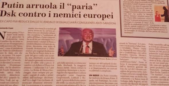 Leonardo Coen per Il Fatto Quotidiano 13 settembre 2014