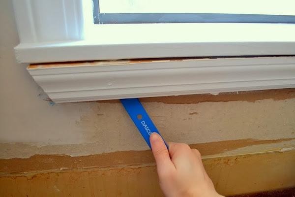How To Prep Kitchen Walls For A Tile Backsplash The Ugly