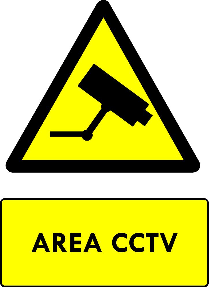 Rambu Area Pantauan CCTV