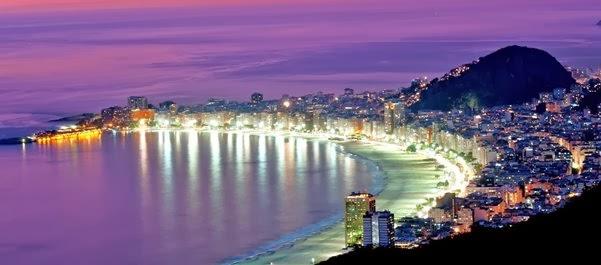 Férias em Copacabana, Rio de Janeiro, Brasil