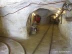 """Inside view of """"Hazel Atlas Portal"""" (Feature #5 on Trail Map)"""