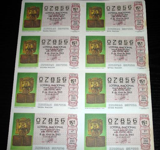 Loteria Nacional-pectoral figura