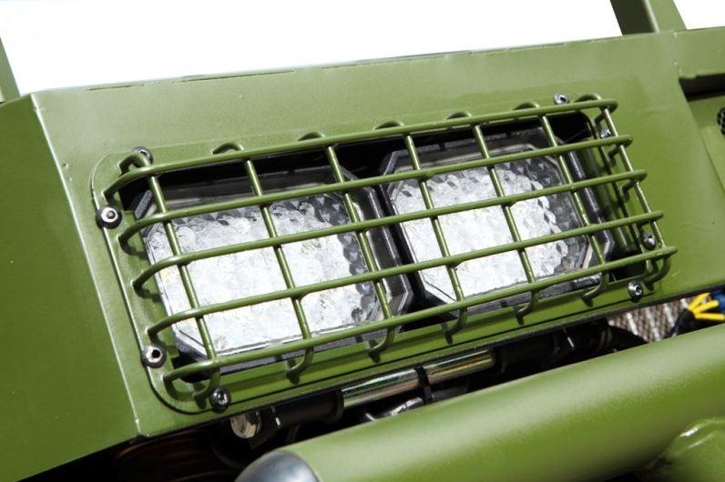500cc Agmax Military Farm UTV Iodine Tungsten Headlights with Guards